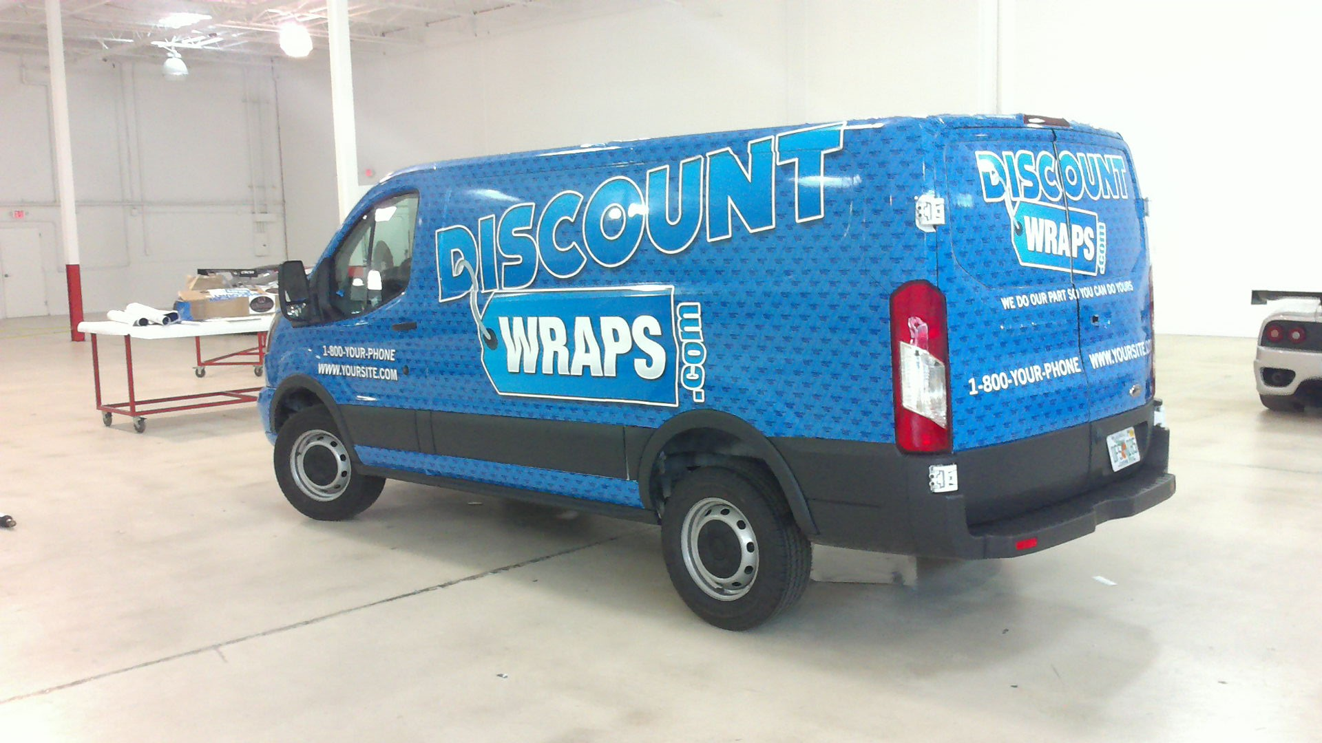 Wholesale Vehicle Wrap Printing | Discount Wraps